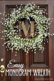 monogram wreath monogram wreath tutorial