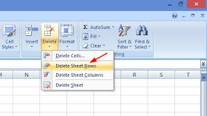 4 simple ways to delete or remove blank rows in excel