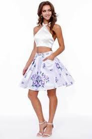 nox anabel two piece floral print short dress 6227 couturecandy
