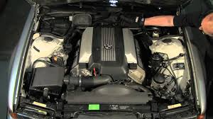 under the hood of a bmw 7 series u002795 thru u002701 e38 youtube