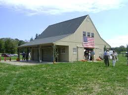 Barn Garage Plans Our 30 U0027x 36 U0027 Gentleman U0027s Horse Barn With Two 10 U0027x 36 U0027 Open Lean