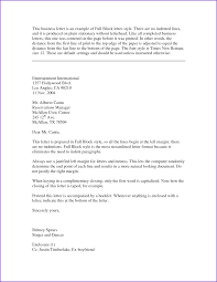 Business Letter Template With Cc Block Business Letter Format Jobproposalideas Com