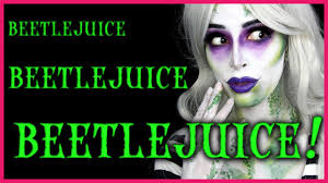 Beetlejuice Halloween Makeup Tutorial Youtube