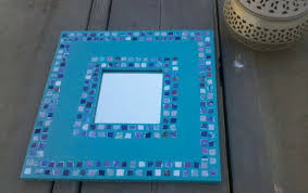 wall decor for sale upcycled wall mirror u0026 turquoise wooden