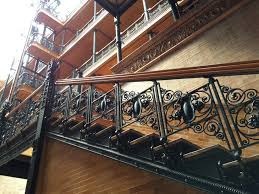 Building Interior Stairs A Visit To The Bradbury Building In Downtown Los Angeles