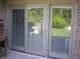 Window Coverings For Patio Door Patio Door Blinds Between Glass Business For Curtains Decoration