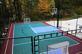 basketball court construction tennis courts multi game courts