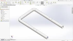 solidworks flatten bent square tubes part i