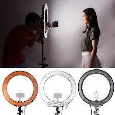 neewer led ring light neewer 18 dimmable led ring light camera photo video lighting kit f