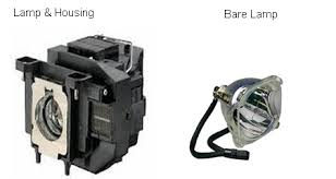 bare bulb vs lamp assembly housing projector lamp projector bulb