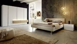 Schlafzimmer Bett Nussbaum Standardbett Doppelt Modern Gepolstertes Kopfteil Gentis