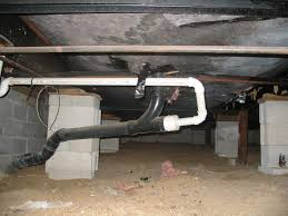 rat problem under mobile home floor ac water heater drains