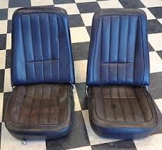 1968 corvette seats 1968 early 1969 c3 corvette seats black ebay