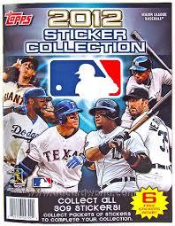 baseball photo album 2012 topps baseball hobby sticker album da card world
