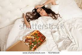 Pizza Duvet Woman Pizza Isolated Stock Images Royalty Free Images U0026 Vectors