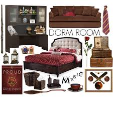 gryffindor bedroom 014219 harry potter dorm room ideas decoration ideas for the