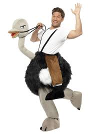 animal halloween costumes for womens ostrich costume