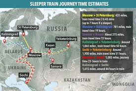 russia world cup cities map world cup 2018 russia lay on free trains for fans but journey