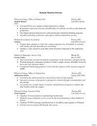 resume format college student internship resumes resume exles for college students looking for internships