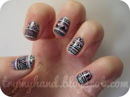 pointy nails designs nail art