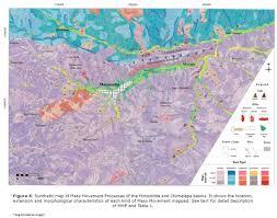 Map Of Mass Mass Movement Processes At The Motozintla Basin Chiapas Southern