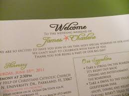 wedding itinerary template for guests welcome letter weddingbee photo gallery