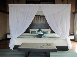 Sheer Curtains Over Bed Modern Contemporary Canopy Bed All Design Beds Metal Arafen