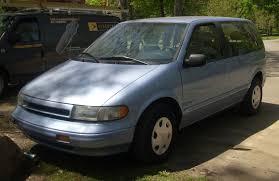 minivan nissan quest interior 1993 nissan quest vin 4n2dn11wxpd838421 autodetective com