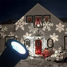 Christmas Light Show Projector by Christmas Led Snowflake Projector Lights Waterproof Landscape