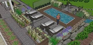 amenagement autour piscine hors sol amenagement paysager avec piscine creusee kirafes