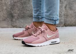 light pink nike air max nike wmns air max zero particle pink light bone black white