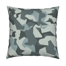 swedish m90 urban camo 004 square pillow by ricraynor roostery share