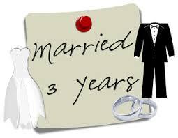 3rd wedding anniversary 3 year wedding anniversary big s