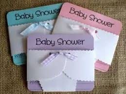 diy ideas for baby shower invitations decorations