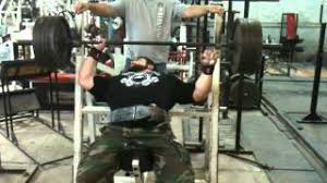 Benching 315 Brian Siders Incline Benching 495 X 2 1 Partial At Metroflex Gym