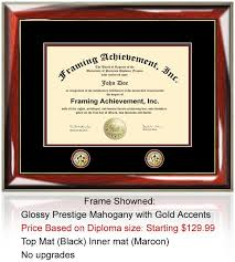 diploma frame size diploma frame college graduation frames gifts plaques