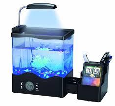 mini fashionable usb desktop aquarium with pen holder buy mini
