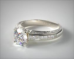 set diamond 1218w14 engraved princess shaped channel set diamond engagement