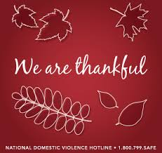 what we re thankful for the national domestic violence hotline