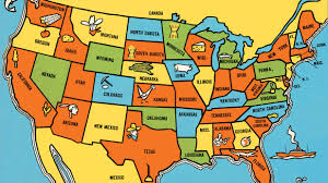 Map Of U What Items Do People In Your State Love Buying The Most From