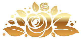 gold flowers gold decor png clipart picture gallery yopriceville high