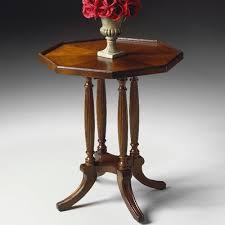 butler plantation octagon end table u0026 reviews wayfair