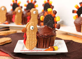 thanksgiving nutter butter turkey cupcakes recipe cake pops