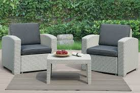 Pvc Outdoor Patio Furniture 3 Resin Pvc Strong Outdoor Patio Furniture Set Home