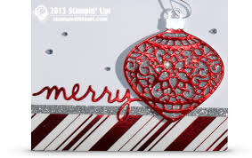 card delicate ornament wow card stin up