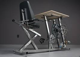 Exercise At Your Desk Equipment Big Rig Pedal Powered Desk