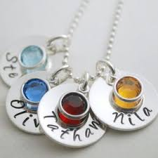 Sterling Silver Personalized Necklaces Personalized Necklaces Personalized Pendants Custommade Com