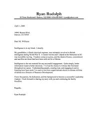 security cover letter sles analyst cover letter
