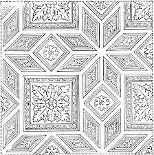 ornament of a vaulted roof clipart etc