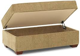 Cocktail Storage Ottoman Rectangular Cocktail Storage Ottoman By Klaussner Wolf And
